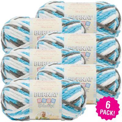 Bernat Baby Blanket - 6/Pk-Sail Away
