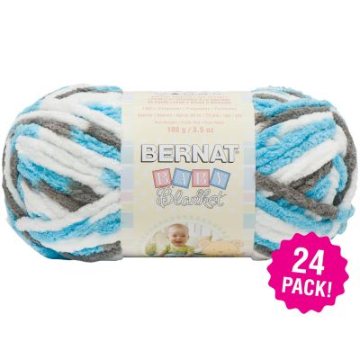 Bernat Baby Blanket - 24/Pk-Sail Away
