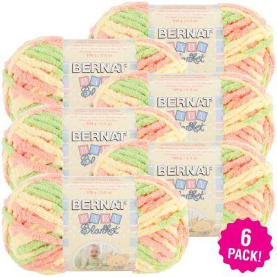 Bernat Baby Blanket - 6/Pk-Sunshine