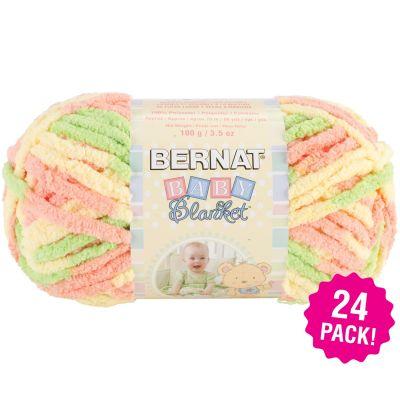 Bernat Baby Blanket - 24/Pk-Sunshine