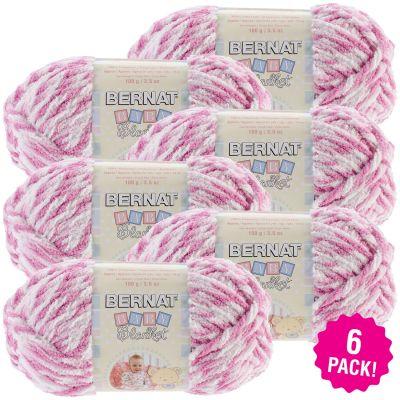 Bernat Baby Blanket Twists - 6/Pk-Pink Twist