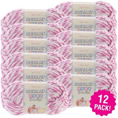 Bernat Baby Blanket Twists - 12/Pk-Pink Twist