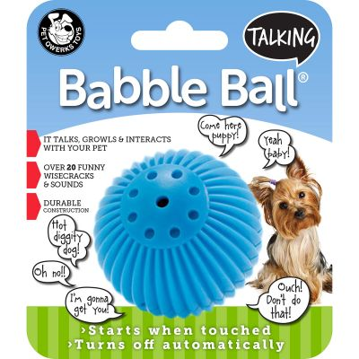 Small Talking Babble Ball Blue - TBB3