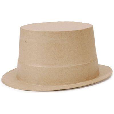 Paper Mache Top Hat 9