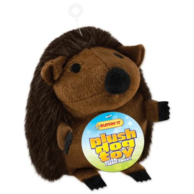 Large Plush Hedgehog Dog Toy  - 16260