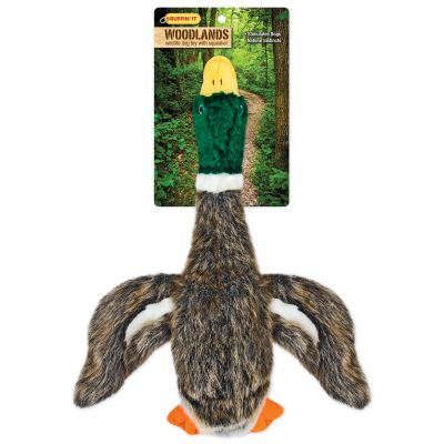 Woodlands Large Plush Mallard Dog Toy  - 16266