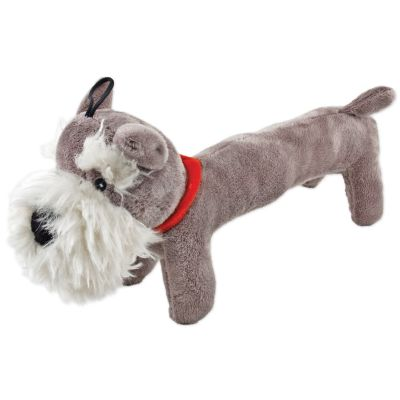 Fetch A Pal With Squeaker Plush Schnauzer Dog Toy  - 16215