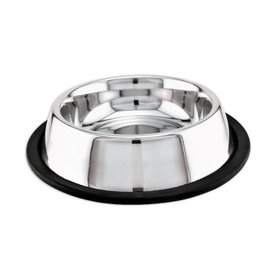 Stainless Steel Non Skid Dish 16Oz  - 19016