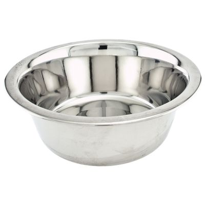Economy Stainless Steel Dish 5Qt  - 15060