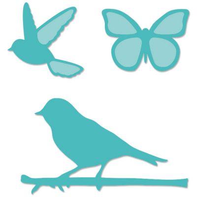 Kaisercraft Dies Birds & Butterflies 1
