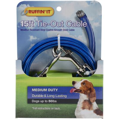 Medium Duty Cable Tie Out 15Ft  - 29115