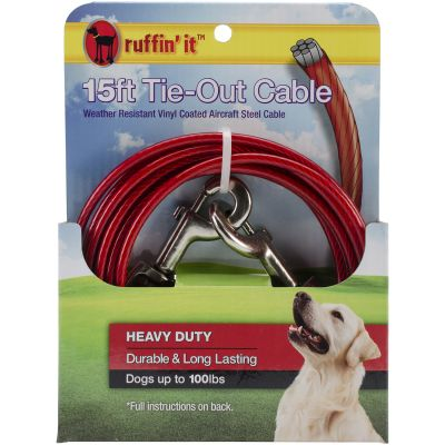 Heavy Duty Cable Tie Out 15Ft  - 29215