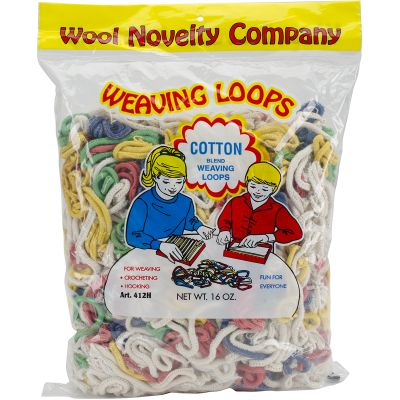 Cotton Weaving Loops 16Oz Assorted - 412