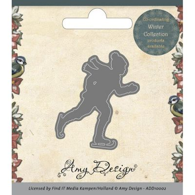 Find It Trading Amy Design Die Ice Skater - ADD10002