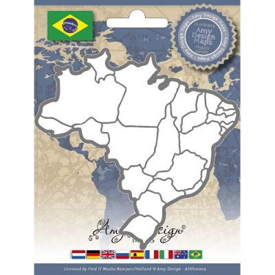 Find It Trading Amy Design Map Die Brazil - ADD10009