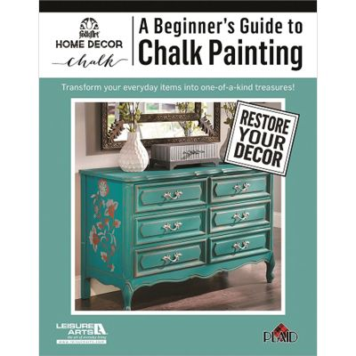 Leisure Arts A Beginner'S Guide To Chalk Painting - LA-6437