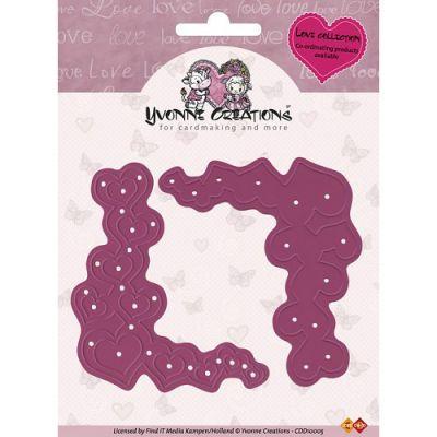Find It Trading Yvonne Creations Love Die Corners - CDD10005