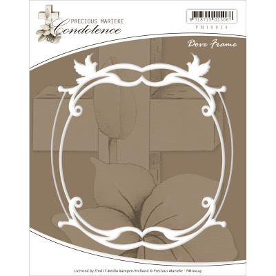 Find It Trading Precious Marieke Condolence Die Dove Frame - PM10024