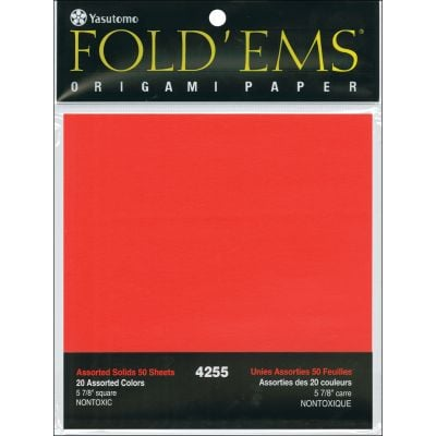 Fold 'Ems Solid Origami Paper 5.875