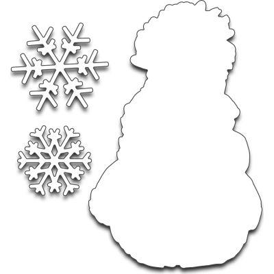 Penny Black Creative Dies Frosty'S Snow - 51266