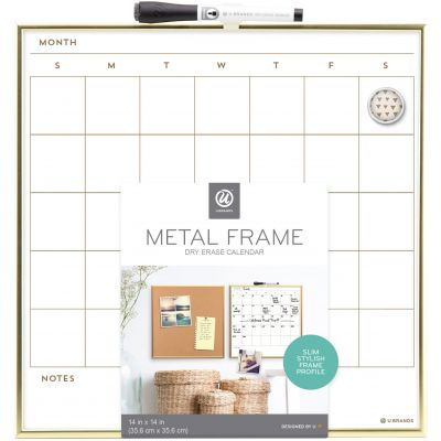 Gold Frame Calendar 11
