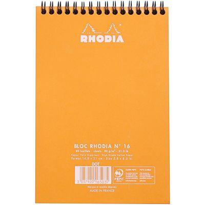 Rhodia Wirebound Dot Pad 6