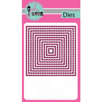 Pink & Main Dies Stitched Squares 4