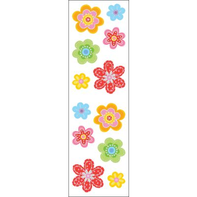 Mrs. Grossman'S Stickers Delightful Flowers - MG199-21593