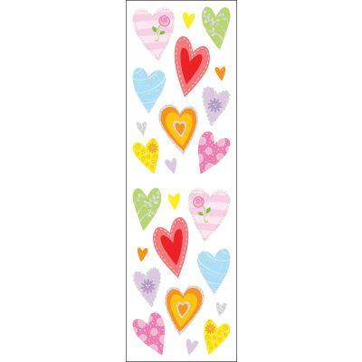 Mrs. Grossman'S Stickers Delightful Hearts - MG199-21603