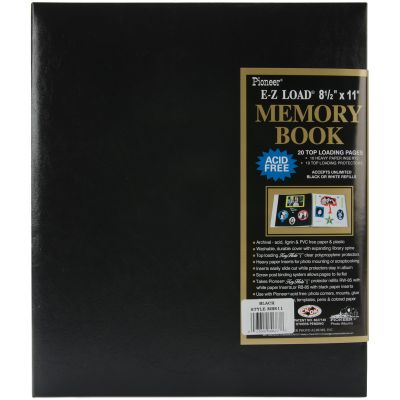 Pioneer Leatherette Post Bound Album 8.5