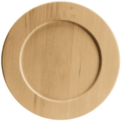 Basswood Round Plate 9.5