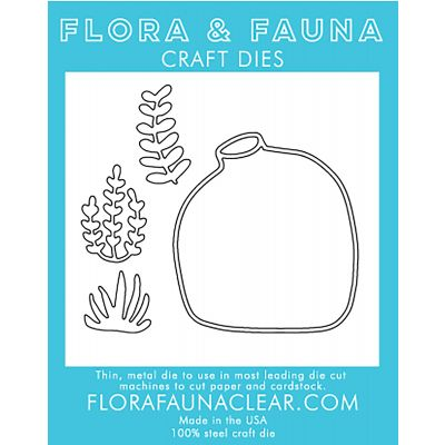 Flora & Fauna Dies Terrarium Cluster - FF30041