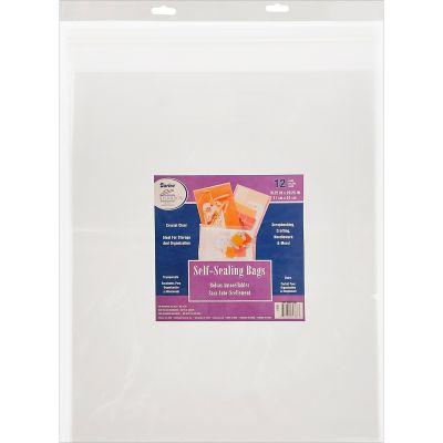 Darice Self Sealing Bags 12/Pkg 16.25