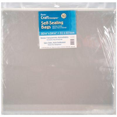 Darice Self Sealing Bags 10/Pkg 20.25