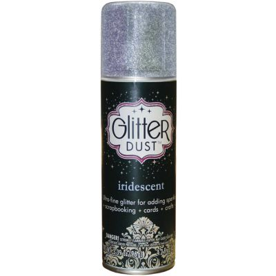 Glitter Dust Aerosol Spray 4.2Oz Iridescent - TW31-3