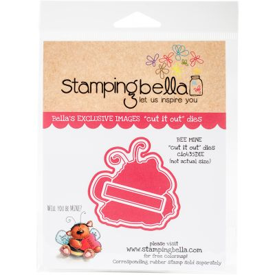 Stamping Bella Cut It Out Dies Bee Mine - CIO435