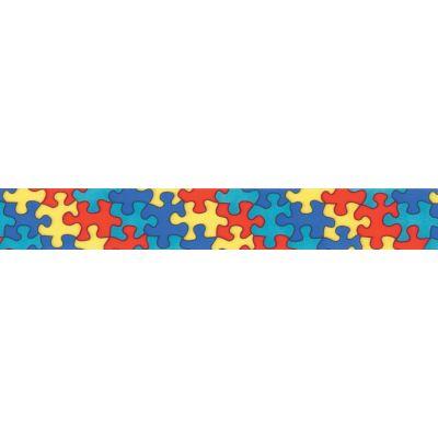 Offray Jigsaw Satin Ribbon 7/8