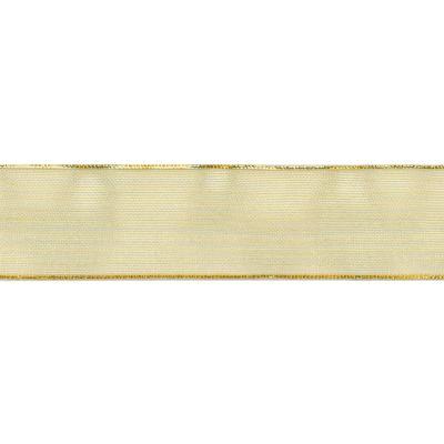 Offray Aria Metallic Sheer Ribbon 1 1/2