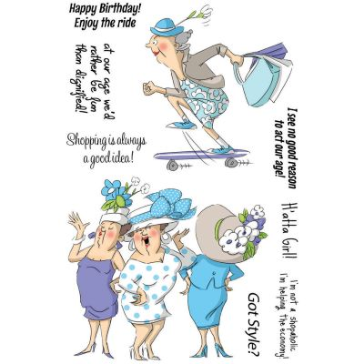 Art Impressions People Clear Stamps Got Style - SC0678