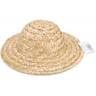 Round Top Straw Hat 8.5