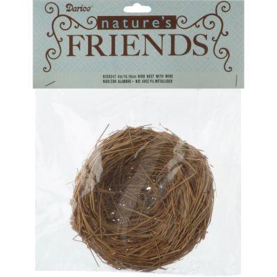 Bird Nest W/Wire 4