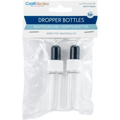 Dropper Bottles 2/Pkg 20Ml - PB220