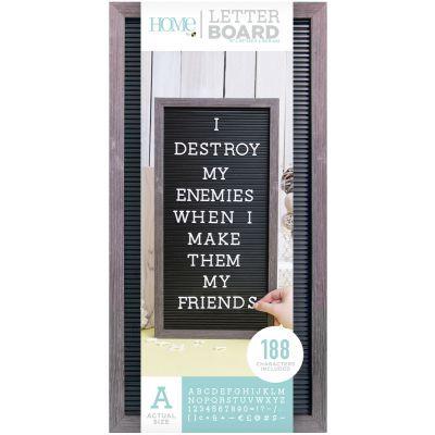 Dcwv Framed Letterboard 10