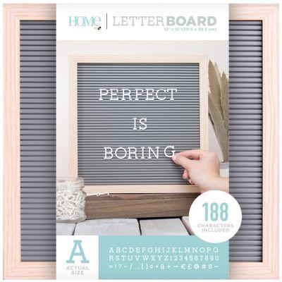 Dcwv Framed Letterboard 12