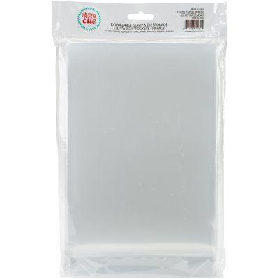 Avery Elle Stamp & Die Storage Pockets 50/Pkg Extra Large 6.75