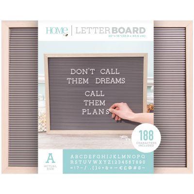 Dcwv Framed Letterboard 20