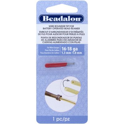 Battery Operated Bead Reamer Wire Rounder Tip 16 18 Gauge  - 208F-004