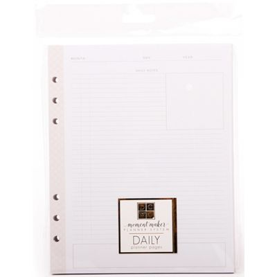 Dcwv Moment Maker Planner Insert Daily Professional - SY002072