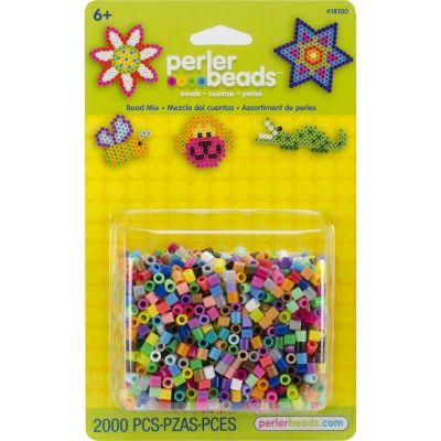 Perler Bead Mix 2,000/Pkg Multicolor - 18100