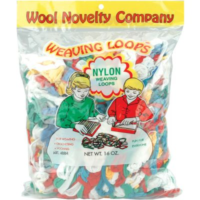 Nylon Weaving Loops 16Oz Assorted - 488